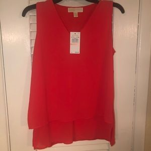 NWT Michael Kors sleeveless top